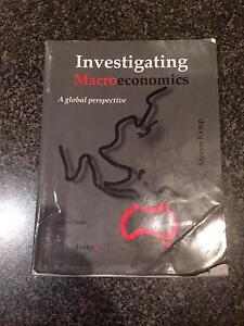 Investigating Macro Economics (Textbook) Stirling Stirling Area Preview