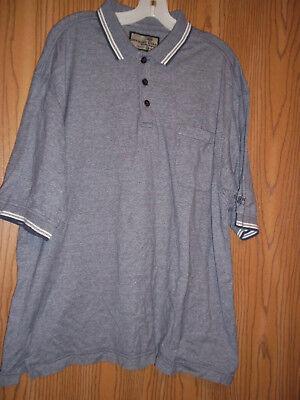 Dockers Khakiware Golf Shirt XXL 2XL Gray
