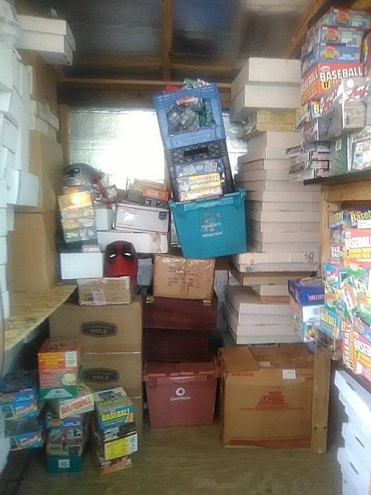 Baseball Estate Sealed Lot + FREE Graded, Auto, Jordan, Mantle, Griffey 450 Card