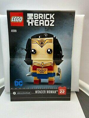LEGO BrickHeadz DC Super Heroes Wonder Woman 22 # 41599