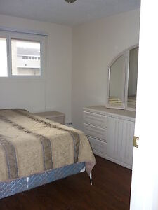 Furnished Room for rent in shared condo avail. June 1st