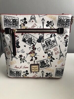 minnie mouse tres chic crossbody bag by dooney and bourke