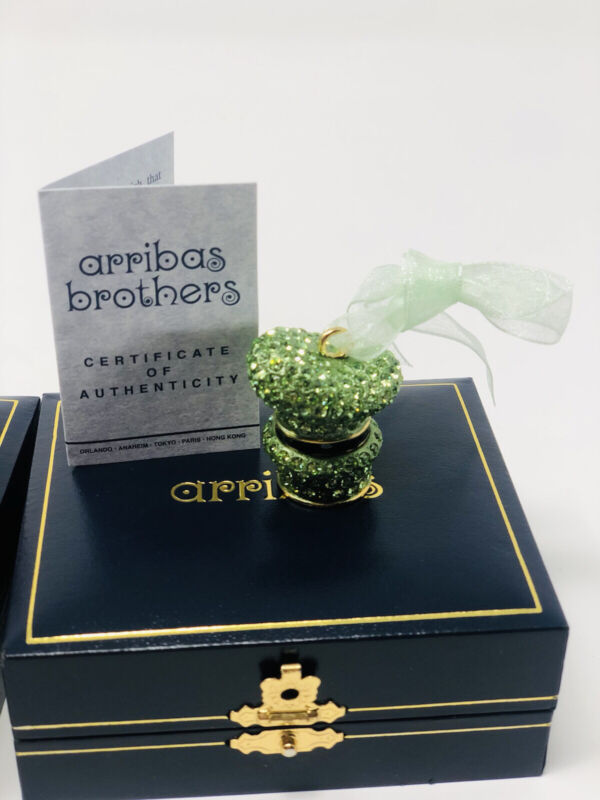 Arribas Brothers Goofy Hat made With hand set swarovski crystals Ornament Rare