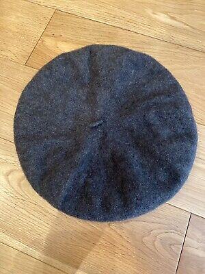 Kangol Beret Cap Hat Grey One Size