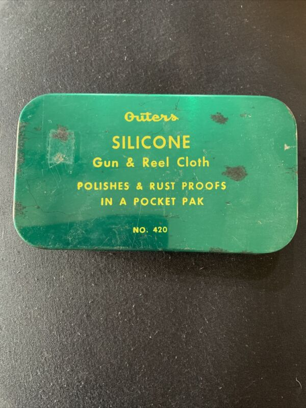 OUTERS SILICONE GUN AND REEL CLOTH TIN NO. 420