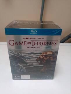 Dvd Game of thrones blue ray box set seasons 1-7 brand new