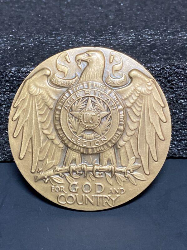 Bronze School Award American Legion National Headquarters Medallic Art