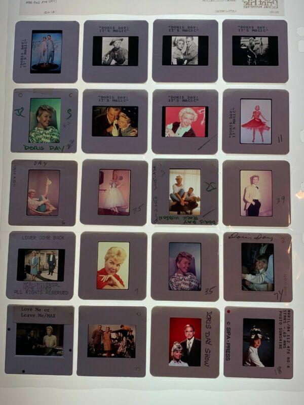 Doris Day Actress 35mm Photo Slides Candid Press Kit Promo Vintage Lot of 20