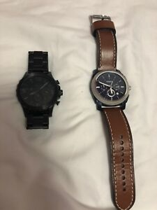 Fossil watches lightly worn, 10/10 quality for good price