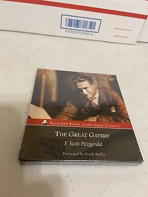 Great Gatsby Items (The Great Gatsby by F. Scott Fitzgerald Audiobook On Cd Rare Item Brand New)