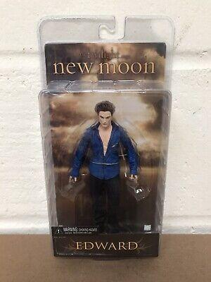 "NECA THE TWILIGHT SAGA NEW MOON EDWARD (BLUE SHIRT) 7"" ACTION FIGURE - NEW"