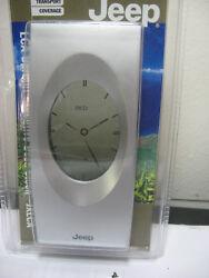 LCA Upright Desk Clock Executive Analog Jeep JXLCA # 892