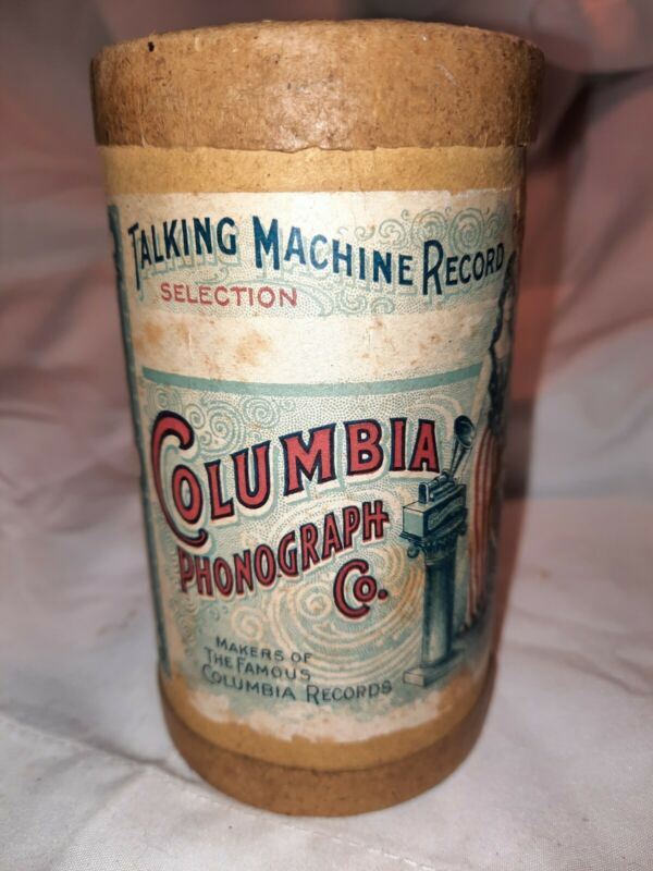 Antique Columbia Phonograph Co. Talking Machine Record