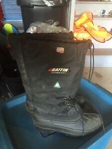 Insulated CSA Steel Toed Winter Boots Men's 6, Women's 8