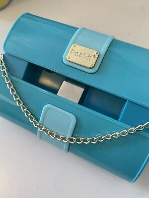 Post It Note Turquoise Fashion Collection Purse Note Dispenser Office Cute Trend