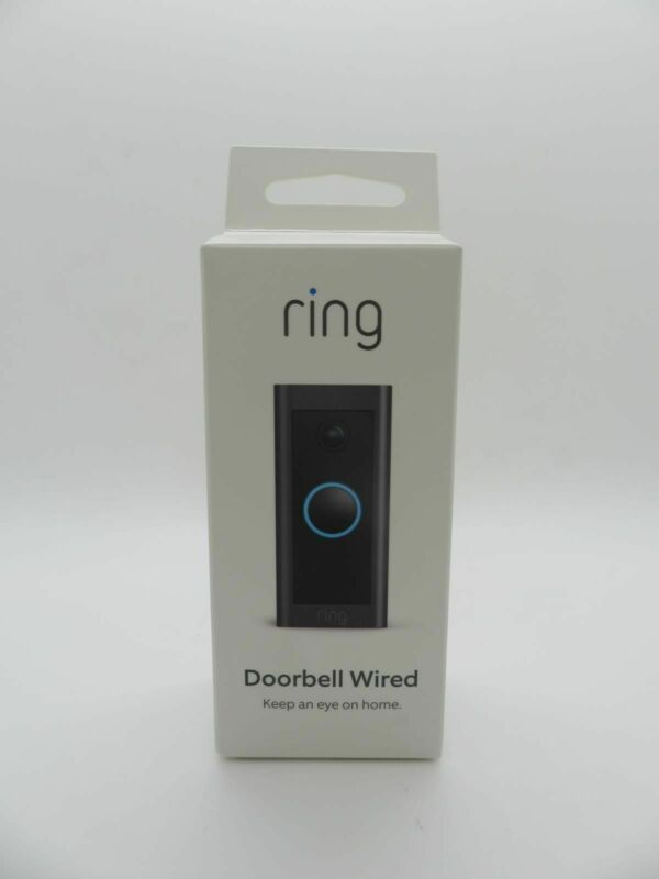 Ring Video Doorbell Wired - Black