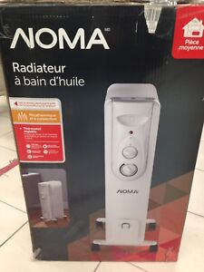 NOMA Oil Filled Heater Brand new in Box