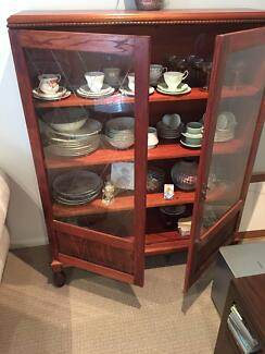 Antique look wooden Display cabinet