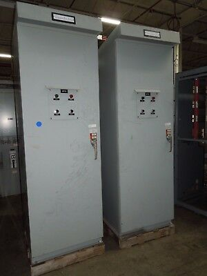 Russelectric Automatic Transfer Switch Model Rmtman-6003ef 600a 277480v Rated