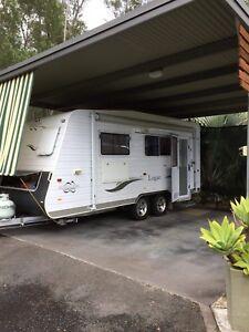 Vanguard 2009, 17ft duel axel caravan