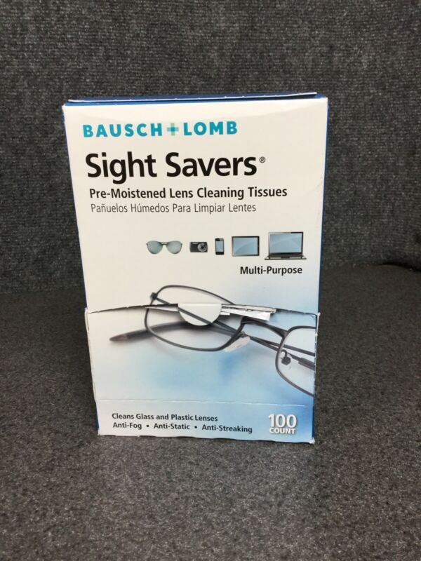 Bausch + Lomb Sight Savers Pre-Moistened Lens Cleaning Tissues M37B