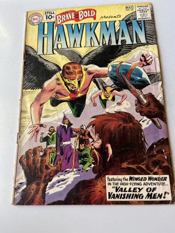 brave and the bold #35 Hawkman