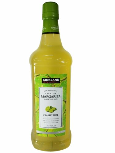 Kirkland Margarita Cocktail Mix Classic Lime Non-Alcoholic 1.75 L (59.2 FL OZ)