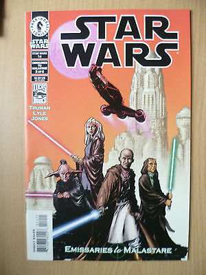 DARK HORSE COMIC STAR WARS 14- EMISSARIES TO MALASTARE# 2 of 6, January 2000