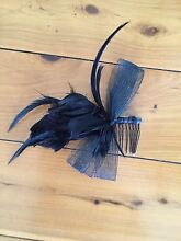 Small Black Fascinator. Perfect for the races/ Melbourne cup day Phegans Bay Gosford Area Preview