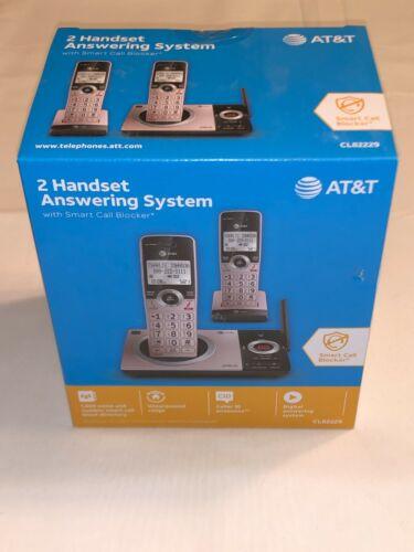 NIB - AT&T CL82229 Cordless Phone 2 Handsets - Digital Answering