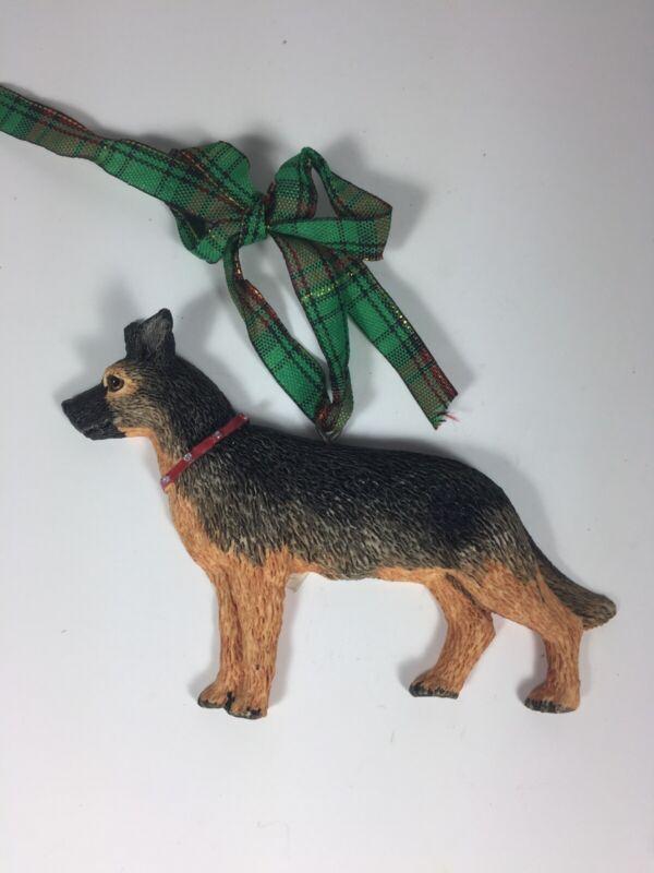 German Shepherd Dog Kurt S. Adler Christmas Ornament Dandy Dogs
