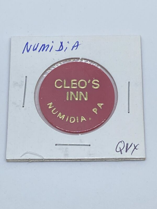 Cleo's Inn. Numidia PA good for ? In trade token C134