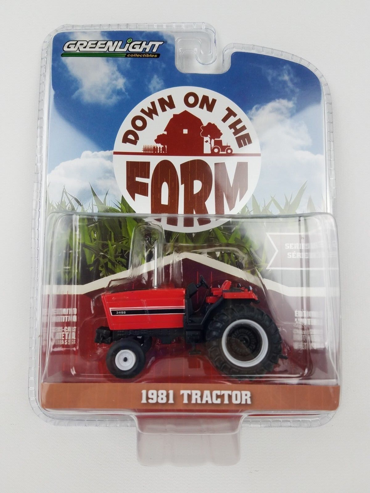 1/64 GreenLight Down on the Farm 1981 International Harvestor IH Tractor
