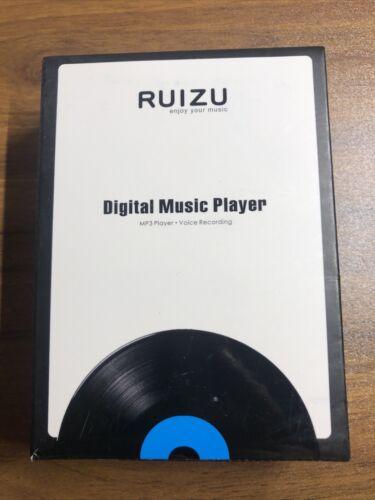Ruizu Digital Music Player Mp3 Player Voice Recording New