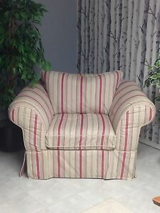 Big chair & loveseat