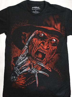 Freddy Krueger A Nightmare On Elm Street Airbrushed Face T-Shirt