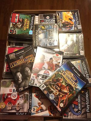 200+ Mixed Platform Games PlayStation 1,2,3 Wii, Xbox 360. All Incomplete