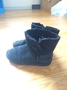 Firefly black winter boots