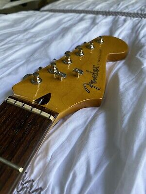 Fender Stratocaster Neck Rosewood w/ American Elite Trees + Locking Tuners