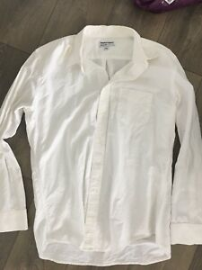 American Apparel Men's Oxford Dress Shirt