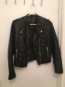 H&M Shell Imitation Leather Jacket