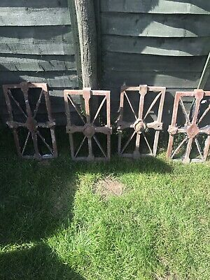 Antique Iron Church Crib Alter Gates