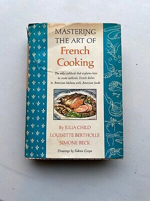 Mastering the Art of French Cooking by Julia Child (1966, Hardcover)