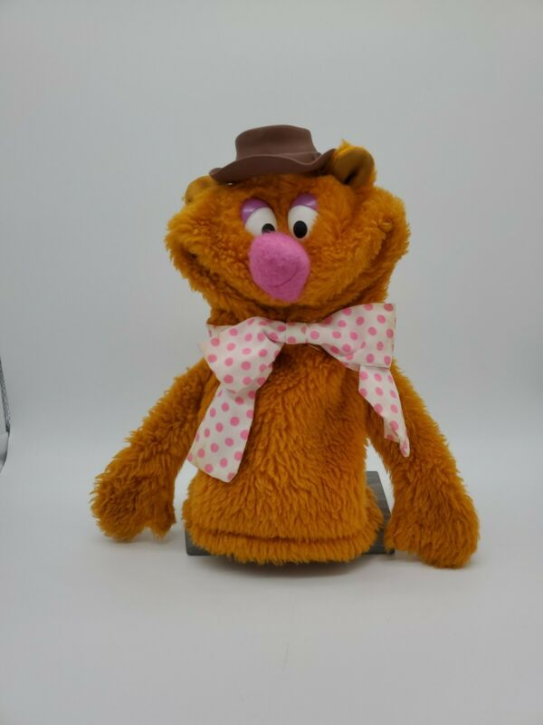 "Fisher-Price Muppets VINTAGE FOZZIE BEAR 10"" Plush Puppet Stuffed Animal 1978"