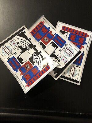 Lego Spider-Man 76115 Sticker Lot, 3 Sets