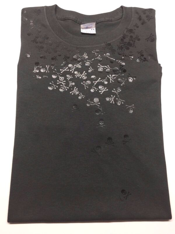 Final Fantasy XV Noctis Skulls Shirt US Shipped Fast FREE!