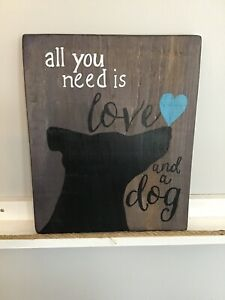 Hand Painted on Reclaimed Wood