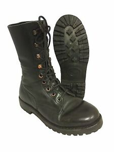 German-Austrian-Unlined-Vintage-Paratrooper-Boot-Para-Boots-Army-Surplus
