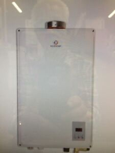 Tankless natural   Gas water heater (NEW)