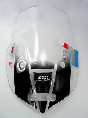 GIVI D6413ST TRIUMPH TIGER 800 2018 SCREEN CLEAR TOURING WINDSHIELD WI